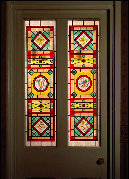 Window Film Stained Glass And Period Style Effects For