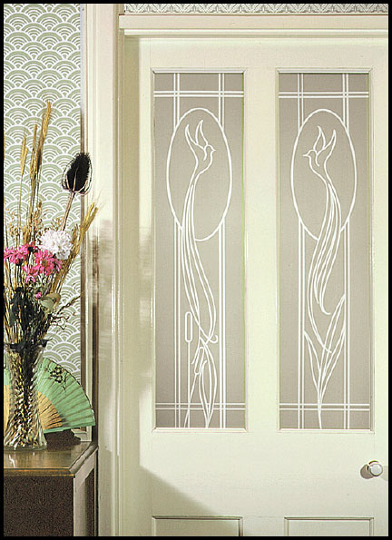 Frosted And Etched Window Film Period Style Effects For